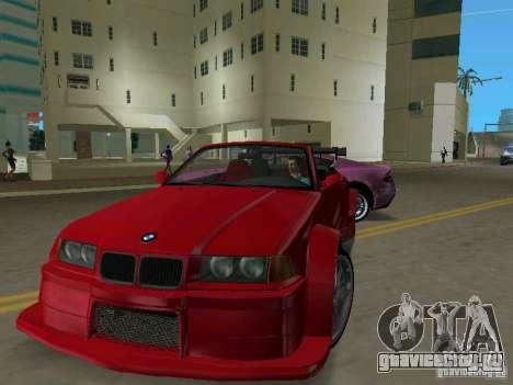 BMW M3 E36 для GTA Vice City вид слева