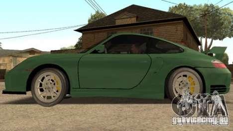 Porsche 911 GT2 для GTA San Andreas вид сзади