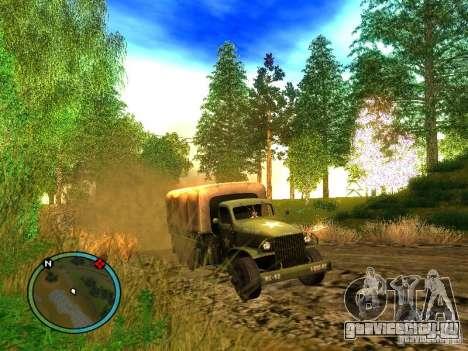 Millitary Truck from Mafia II для GTA San Andreas