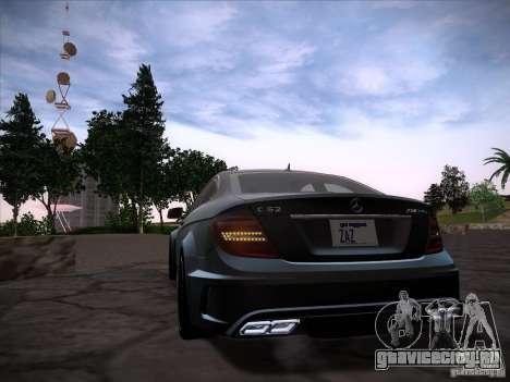 Improved Vehicle Lights Mod для GTA San Andreas третий скриншот