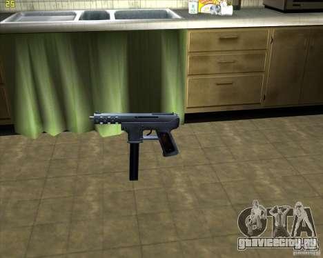 Tec 9 (HQ) для GTA San Andreas