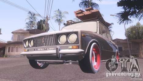 ВАЗ 2106 Tuning Rat Style для GTA San Andreas