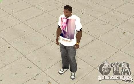 Футболка: Буйный Славик для GTA San Andreas третий скриншот