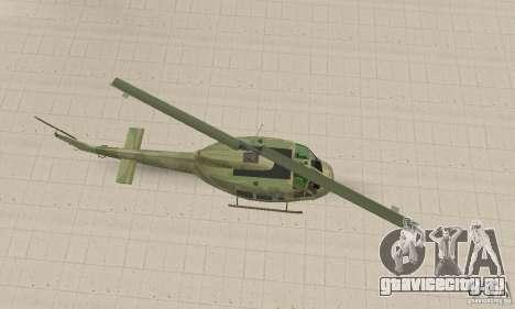 UH-1 Iroquois (Huey) для GTA San Andreas вид справа
