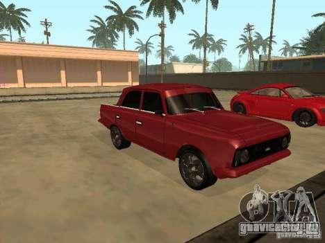 АЗЛК 412 IE для GTA San Andreas вид слева