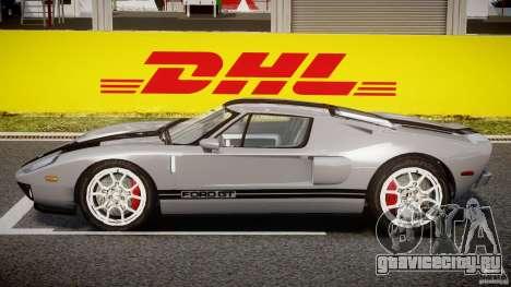 Ford GT 2006 v1.0 для GTA 4 вид сзади слева