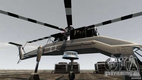 SkyLift Helicopter для GTA 4 вид сзади