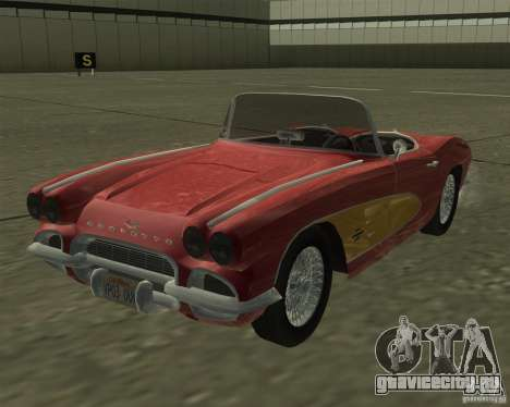 Chevrolet Corvette 1961 для GTA San Andreas