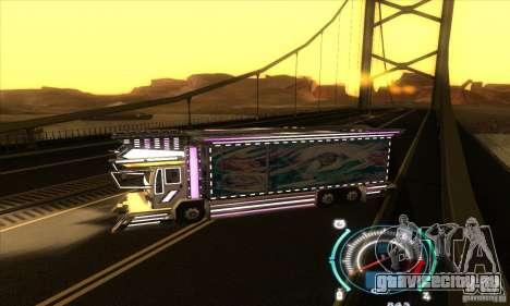 Японский грузовичок для GTA San Andreas вид слева