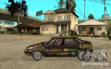 Citroen XM Custom для GTA San Andreas вид слева