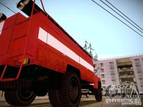 ГАЗ 53 АЦУ-30 Пожарная для GTA San Andreas вид справа
