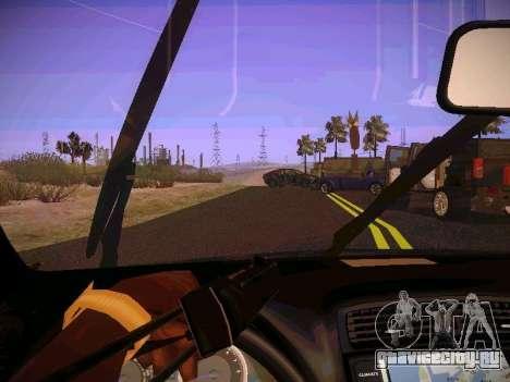 Lexus I SF для GTA San Andreas вид изнутри
