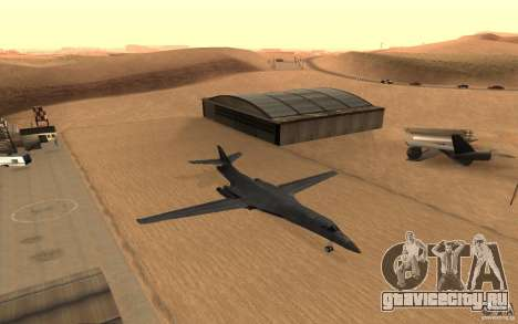B1-B LANCER для GTA San Andreas вид изнутри