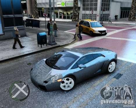 Lamborghini Gallardo 2005 для GTA 4