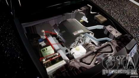 Ford Crown Victoria 2003 v2 FBI для GTA 4 вид сверху