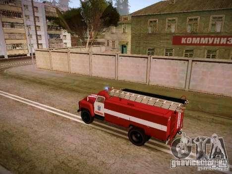 ГАЗ 53 АЦУ-30 Пожарная для GTA San Andreas вид слева