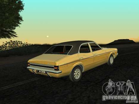 Ford Cortina MK 3 Life On Mars для GTA San Andreas вид слева