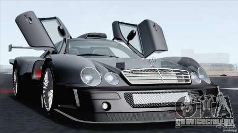 Mercedes-Benz CLK GTR Race Car для GTA San Andreas вид справа