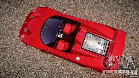 Ferrari F50 Spider v2.0 для GTA 4 вид справа