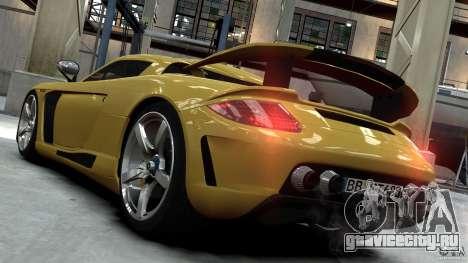 Porsche Carrera GT Gemballa Mirage EPM для GTA 4 вид слева