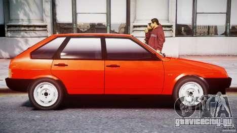 ВАЗ-21093i для GTA 4 салон