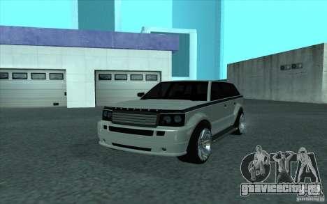 Huntley из GTA 4 для GTA San Andreas