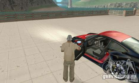 Porsche 911 GT2 NFS Undercover для GTA San Andreas вид сзади