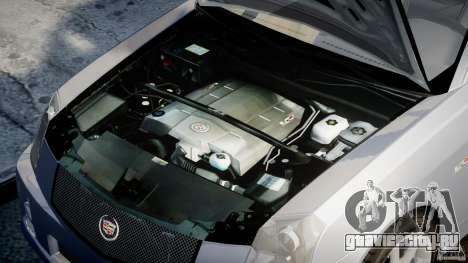 Cadillac CTS-V для GTA 4 вид справа