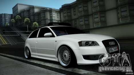 Audi S3 Euro для GTA San Andreas