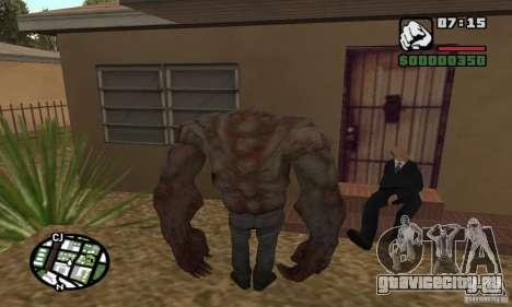 Танк из Left 4 Dead для GTA San Andreas второй скриншот