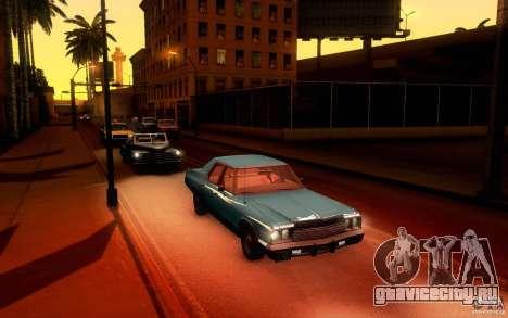 Dodge Monaco для GTA San Andreas вид сзади