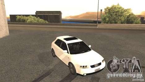 Audi A3 1.8T 180cv для GTA San Andreas