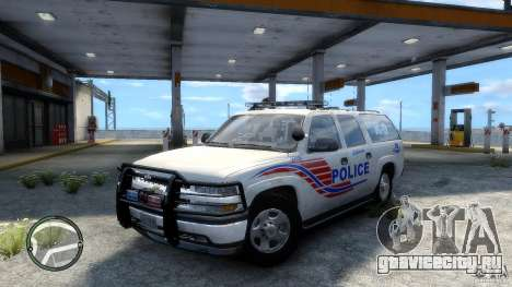 Chevrolet Suburban 2006 Police K9 UNIT для GTA 4