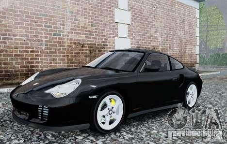 Porsche 911 Turbo S для GTA 4 вид слева