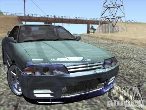 Nissan Skyline GT-R 32 1993 для GTA San Andreas вид сзади