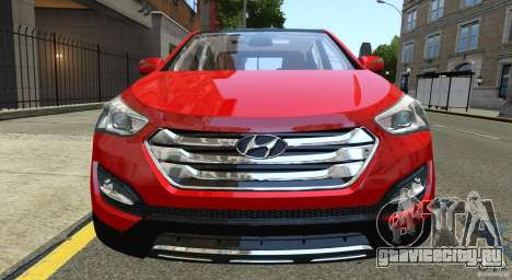 Hyundai Santa Fe Sport 2013 для GTA 4 вид сбоку