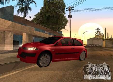 Renault Megane Sport Custom для GTA San Andreas вид справа