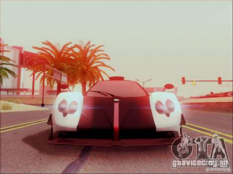 Pagani Zonda Cinque для GTA San Andreas