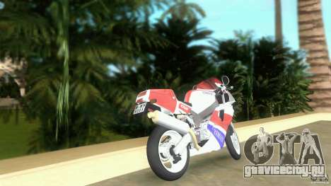 Yamaha FZR 750 original plain для GTA Vice City вид сзади слева