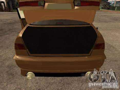 Toyota Camry 2002 TRD для GTA San Andreas вид сзади