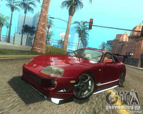 Toyota Supra Light Tuned для GTA San Andreas