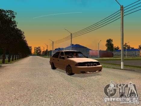 Daewoo Nexia для GTA San Andreas вид сзади