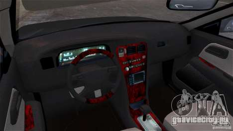 Toyota Mark II 2.5 для GTA 4 двигатель