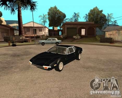 1971 De Tomaso Pantera для GTA San Andreas