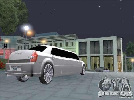 Chrysler 300C Limo для GTA San Andreas вид справа