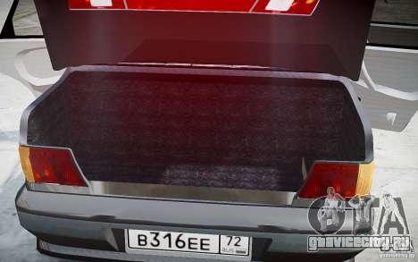 ВАЗ 2115 v1.0 для GTA 4 салон