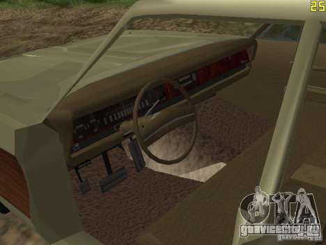 Chrysler Town and Country 1967 для GTA San Andreas вид сзади