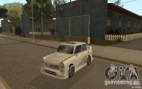 Trabant 601S Tuning для GTA San Andreas