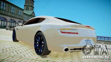 Aston Martin Rapide для GTA 4 вид слева