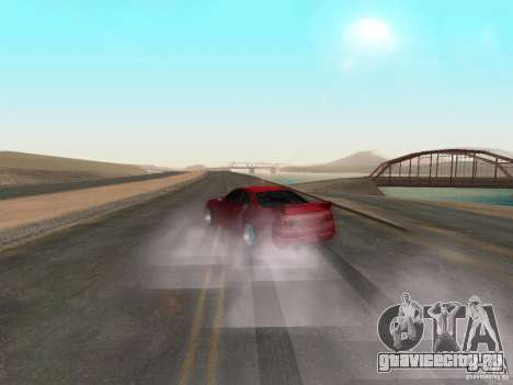 Новые текстуры воды и дыма для GTA San Andreas третий скриншот